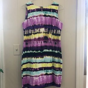 AGB Colorful women's dress size 14p